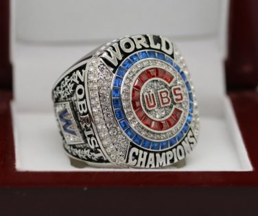 for MVP ZOBRIST 2016 Chicago Cubs MLB world seire Championship Ring 10 Size