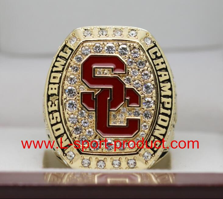 USC Trojans 2016 2017 university of  southern carlifornia Rose Bowl championship ring 8-14S