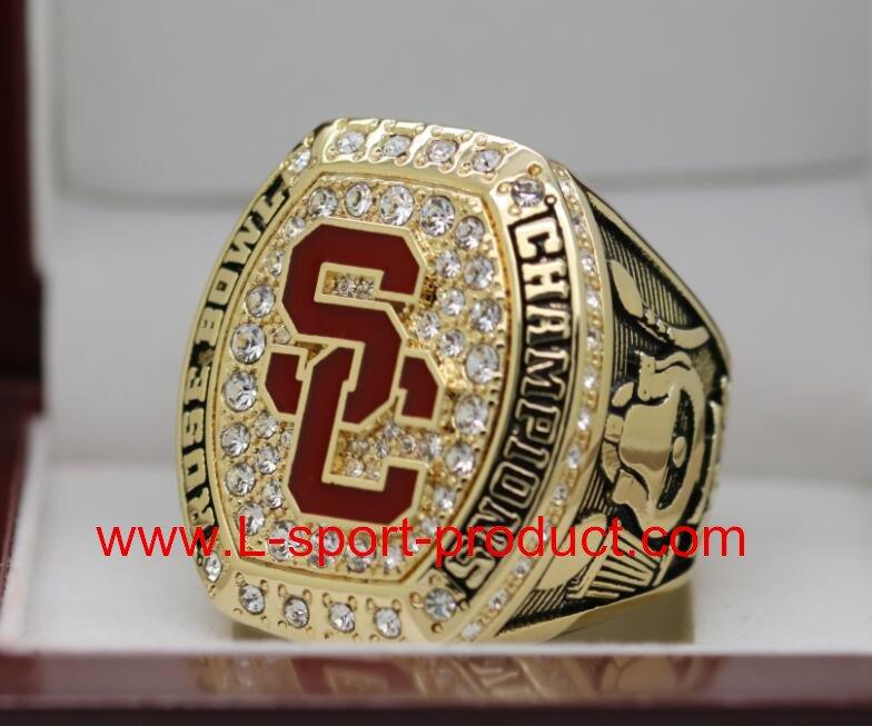 USC Trojans 2016 2017 university of  southern carlifornia Rose Bowl championship ring 9S