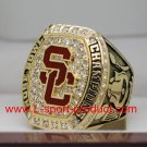 USC Trojans 2016 2017 university of  southern carlifornia Rose Bowl championship ring 12S