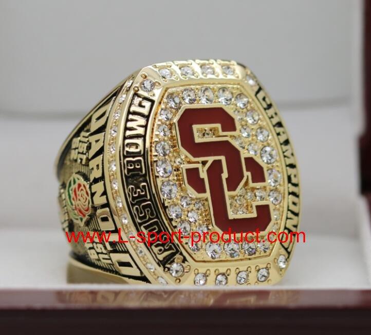 USC Trojans 2016 2017 university of  southern carlifornia Rose Bowl championship ring 14S