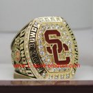 USC Trojans 2016 2017 university of  southern carlifornia Rose Bowl championship ring 14S