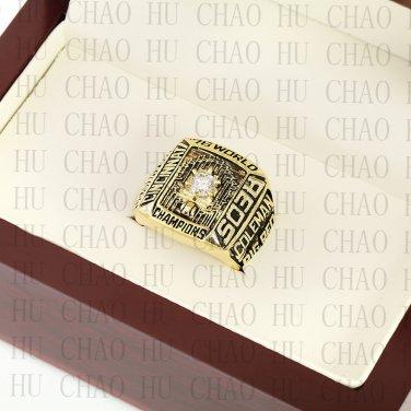 TEAM LOGO WOODEN CASE 1976 CINCINNATI REDS World Series CHAMPIONSHIP RING 10-13S