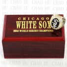 TEAM LOGO WOODEN CASE 2005 CHICAGO WHITE SOX World Series CHAMPIONSHIP RING 10-13S