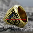 Stephen Curry 2017 Golden State Warriors Basketball championship ring 12S