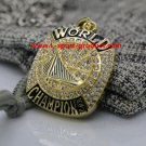 2017 Golden State Warriors Basketball championship necklace with a chain