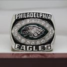2004 PHILADELPHIA EAGLES NFC Football world Championship Ring copper solid 7-15S