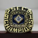 1991 UF Florida Gators SEC NCAA National championship ring 8-14S ingraved inside