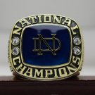 1973 Notre Dame Football NCAA National championship ring 8-14S ingraved inside