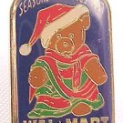 1997 Christmas Bear Walmart Lapel Pin
