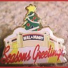 Walmart Season's Greetings Christmas Tree Store Lapel Pin