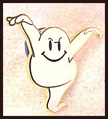 Ghost Holiday Lapel Pin Walmart