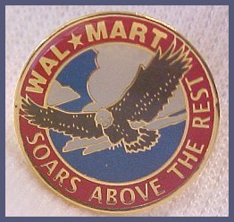 Walmart Soars Above the Rest Eagle  Lapel Pin