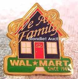 We Are Family Walmart Lapel Pin