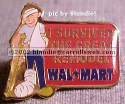 I Survived the Great Remodel Walmart Pin
