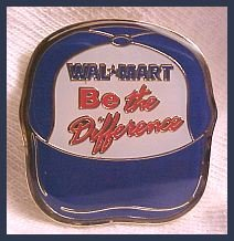 Be the Difference Ball Cap Walmart Lapel Pin