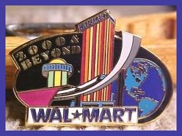 2000 and Beyond Walmart Lapel Pin