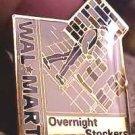 Overnight Stockers Walmart Lapel Pin