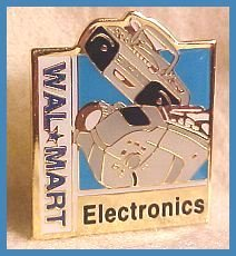 Electronics Square Walmart Lapel Pin