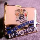 New Jersey State Flag Walmart Pin