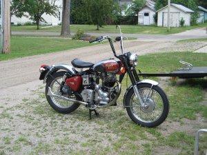 2002 500cc Royal Enfield Bullet Motorcycle