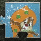 Disney Pin 2010 HKDL Mystery Tin Pin Puzzle Collection - Dale