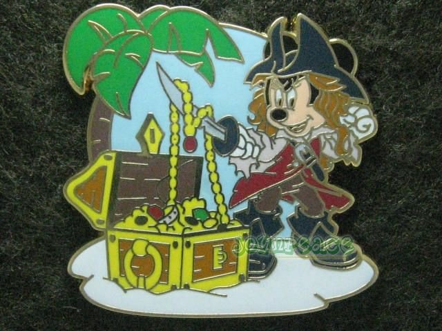 Disney Pin HKDL 2011 Disney Pirates Starter Set - Minnie Only