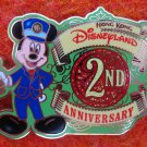 Disney Pin HKDL 2007  2nd Anniversary -  Mickey Mouse