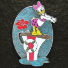 Disney Pin 2007 Fountain of HKDL Series - Daisy Diving