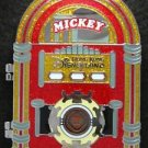 Disney HKDL Jumbo pin - Tea Time Mickey Minnie Donal & Daisy (Hinged) RARE