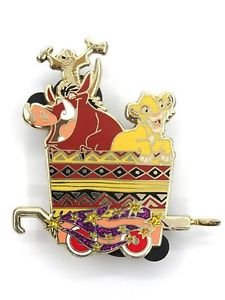 53032 Disney 2008 HKDL Mystery Tin Character Train Collection - SIMBA & PUMBAA