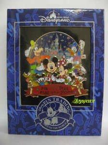 61058 Disney Pin HKDL Pin Trading Fun Day 2008 Jumbo Pin - Mickey & Friends (LE)