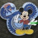 74734 Disney Pin 2010 HKDL - Mickey Dragon
