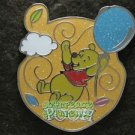 74750 Disney Pin 2009 HKDL - Floating Balloon - Pooh with a balloon
