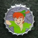 81356 Disney Pin 2010 HKDL Mystery Tin Pin Bottle Cap Collection - Peter Pan