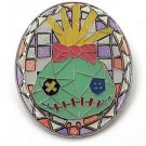 73724 Disney Pin 2009 HKDL Mystery Tin Pin Mosaic Collection - Scrump