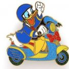 84004 Disney Pin 2011 HKDL Mystery Tin Pin Motorbike Collection - Donald