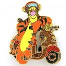 84011 Disney Pin 2011 HKDL Mystery Tin Pin Motorbike Collection - Tigger RARE