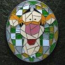 73722 Disney Pin 2009 HKDL Mystery Tin Pin Mosaic Collection - Tigger