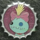 81359 Disney Pin 2010 HKDL Mystery Tin Pin Bottle Cap Collection - Scrump