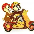 84009 Disney Pin 2011 HKDL Mystery Tin Pin Motorbike Collection Chip Dale RARE