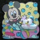 91214 Disney Pin 2010 HKDL - Baby Mickey Bath