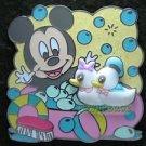 91214 Disney Pin 2010 HKDL - Baby Mickey Bath