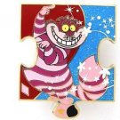 81818 Disney Pin 2010 HKDL Mystery Tin Puzzle Collection - Cheshire Cat