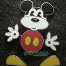 30328 Disney Pin 2005 HKDL - Bendable Mickey Mouse