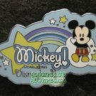 41335 Disney Pin 2005 HKDL - Cute Characters - Mickey Mouse - Rainbow