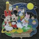 79498 Disney Pin HKDL - Mid Autumn Festival 2010 - Mickey Minnie Donald Daisy