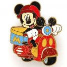83999 Disney Pin 2011 HKDL Mystery Tin Pin Motorbike Collection - Mickey