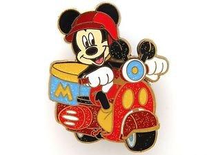 83999 Disney Pin 2011 HKDL Mystery Tin Pin Motorbike Collection - Mickey
