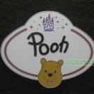 78001 Disney Pin 2010 HKDL Mystery Tin Pin Name Tag Collection - Pooh